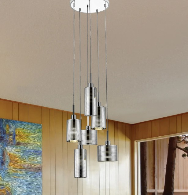 Frank 6-Light LED�Mini Pendant