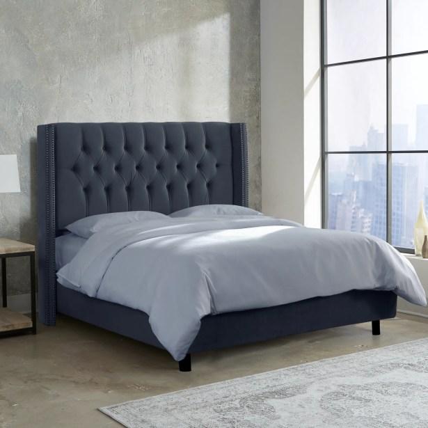 Brunella Upholstered Panel Bed Size: King, Color: Mystere Eclipse