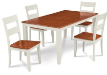 Dining Table Sets Charlestown 5 Piece HardSolid Wood Dining Set