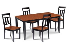 Dining Table Sets Charlestown 5 Piece Solid Wood Dining Set