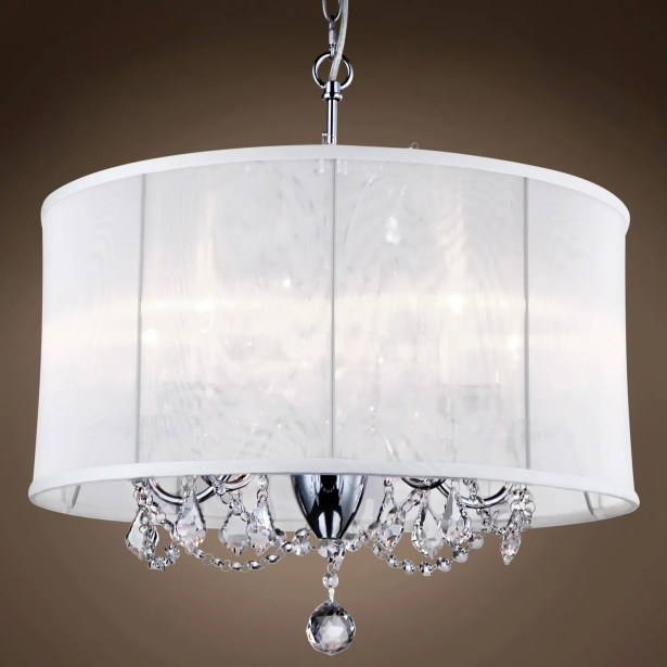 Branyan 6-Light Chandelier Crystal: Smoke European