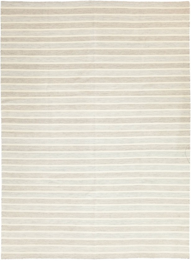 One-of-a-Kind Millers Hand-Knotted Wool Beige Indoor Area Rug