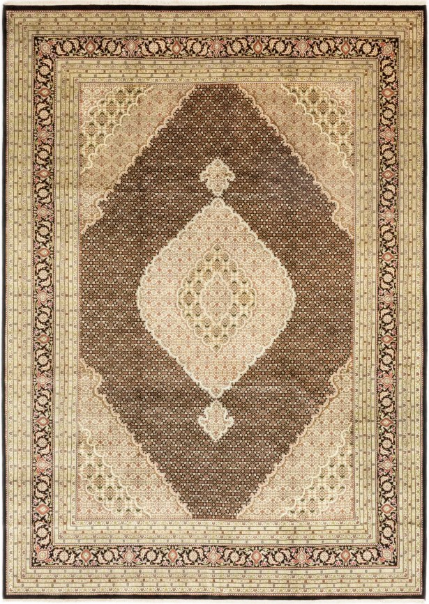 One-of-a-Kind Cortland Hand-Knotted Wool Brown/Beige Indoor Area Rug