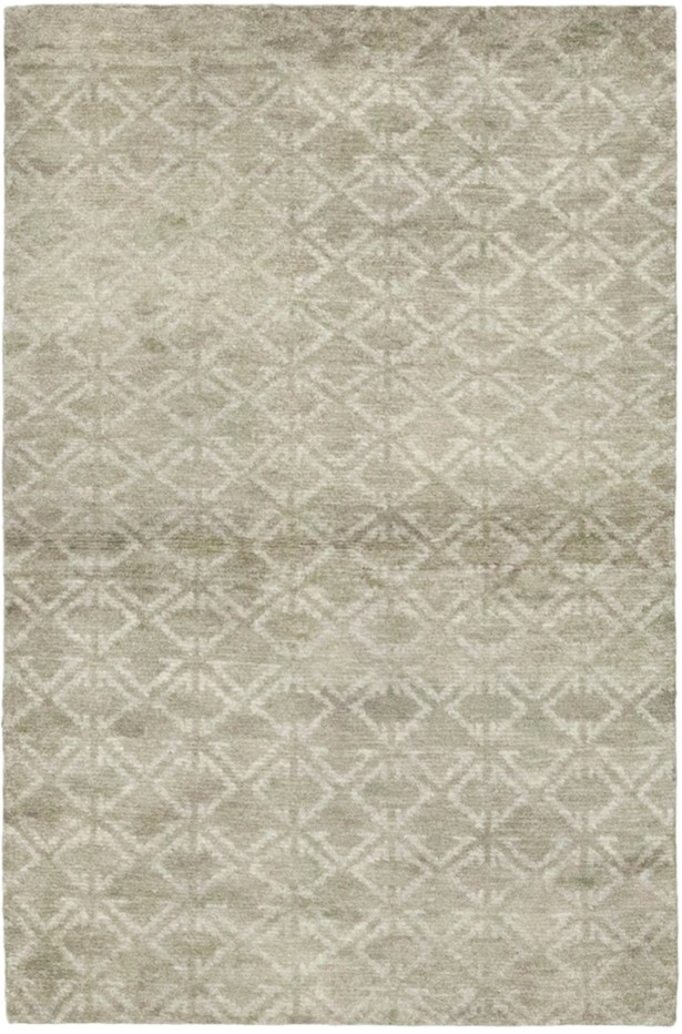 One-of-a-Kind Chelmsford Hand-Knotted Wool Gray Indoor Area Rug