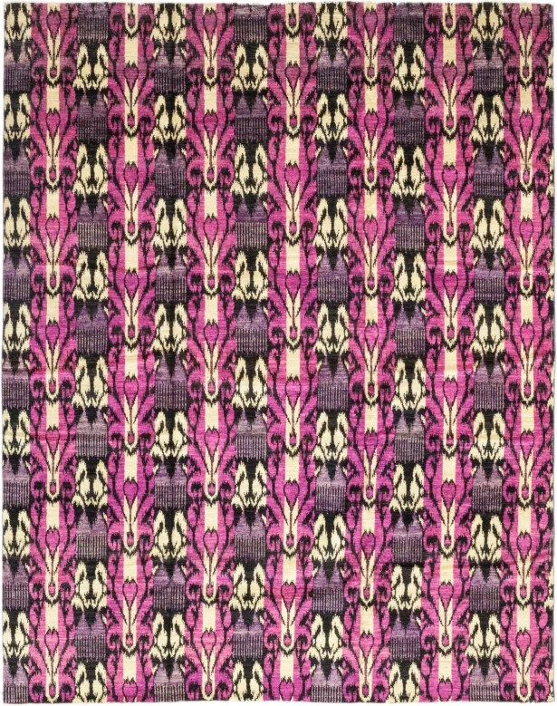 One-of-a-Kind Lasley Hand-Knotted Wool Pink/Beige Indoor Area Rug