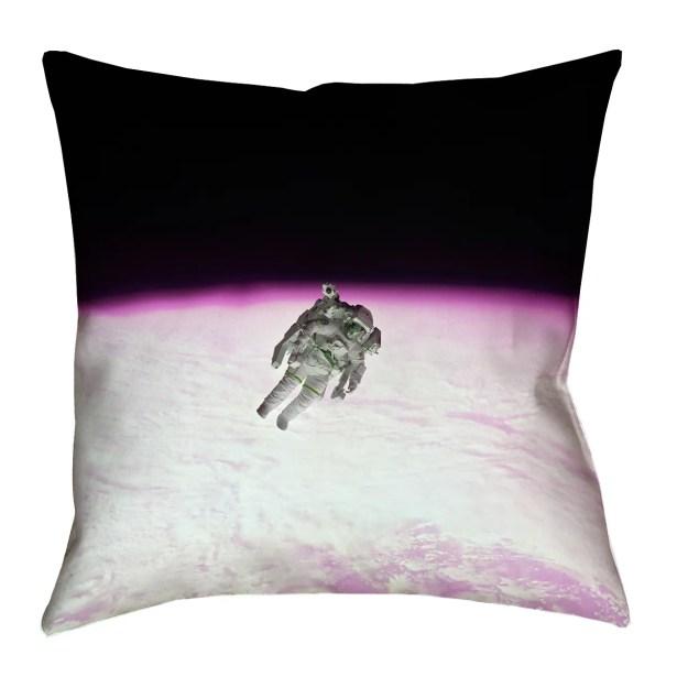 Hansard Astronaut Euro Pillow with Zipper