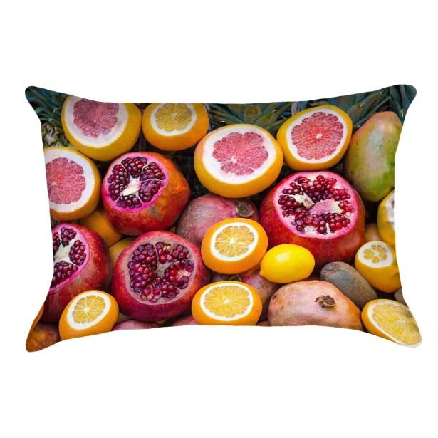 Fruits Lumbar Pillow