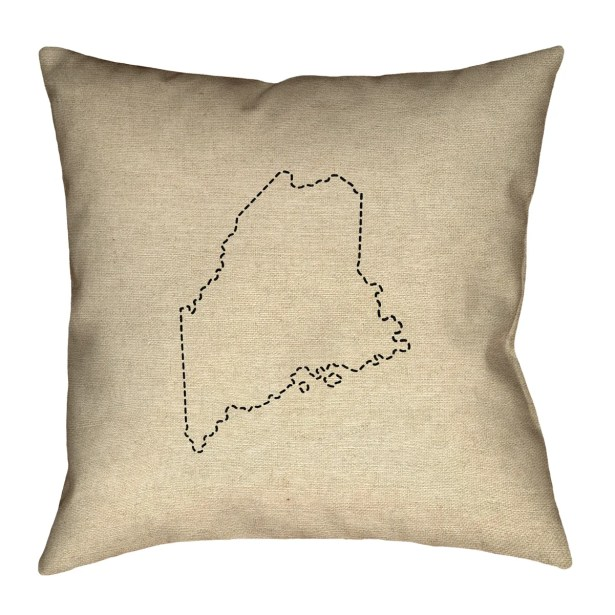 Austrinus Maine Floor Pillow Size: 36