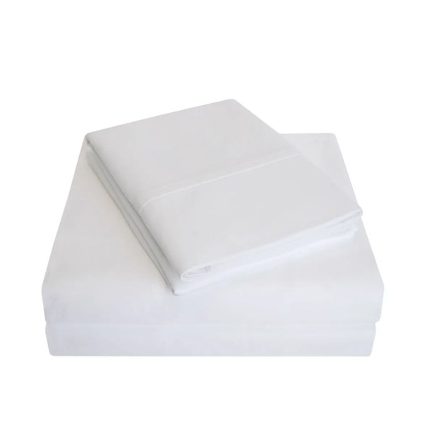 Cullen 800 Thread Count 100% Cotton Sheet Set Size: Full/Double, Color: White