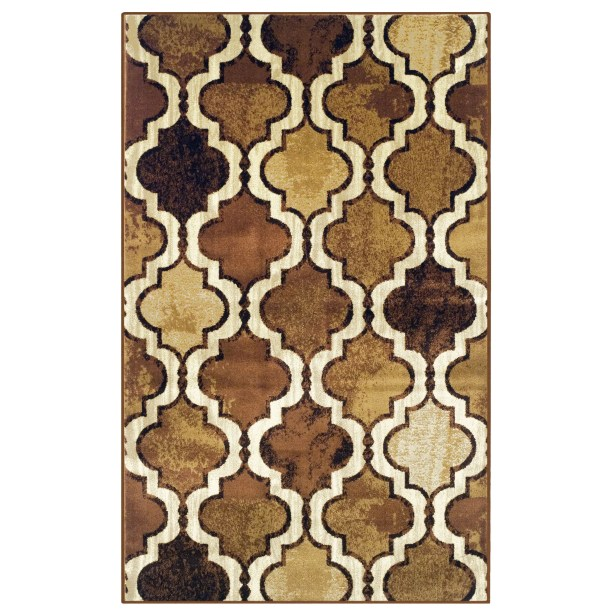 Colena Brown Area Rug Rug Size: Rectangle 8' x 10'