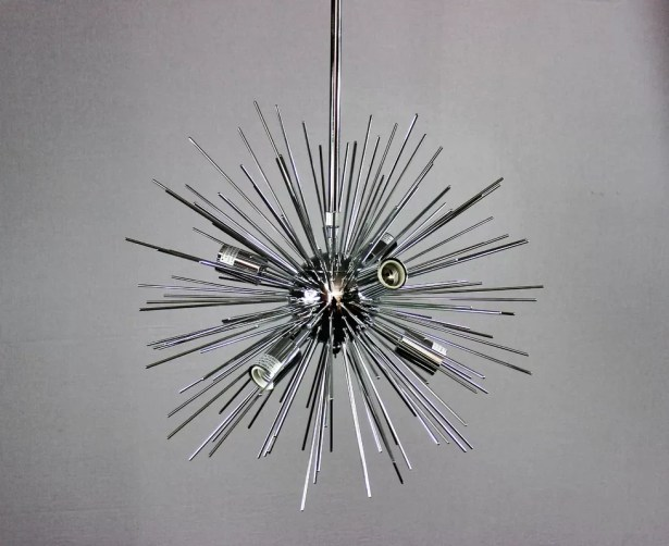Knowsley Urchin 6-Light Chandelier Finish: Chrome
