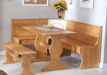Dining Table Sets Patty 3 Piece Nook Dining Set