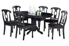 Dining Table Sets Maryrose 7 Piece Wood Dining Set with Butterfly Leaf Table