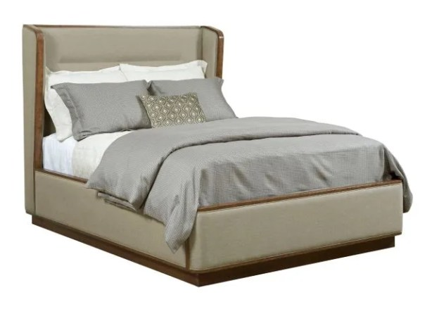 Savannah Upholstered Bed Size: King