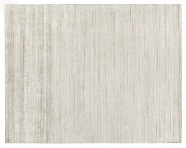 Sanctuary Hand Woven Silk Beige Area Rug Rug Size: Rectangle 12' x 15'