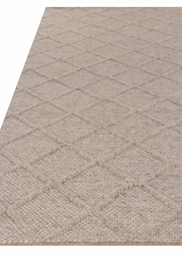 Brentwood Hand Woven Wool Gray Area Rug Rug Size: Rectangle 12' x 15'