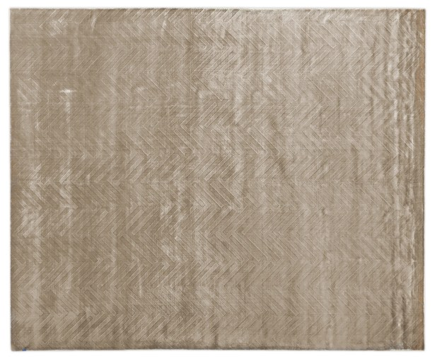 Smooch Carved Hand-Woven Silk Brown Area Rug Rug Size: Rectangle12' x 15'
