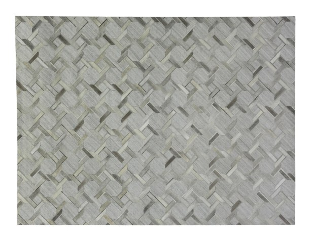 One-of-a-Kind Berlin Hand-Woven Silver/Gray Area Rug Rug Size: Rectangle 12' x 15'