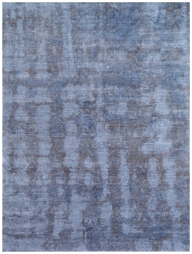 Antolini Hand-Woven Blue Area Rug Rug Size: Rectangle 8' x 10'