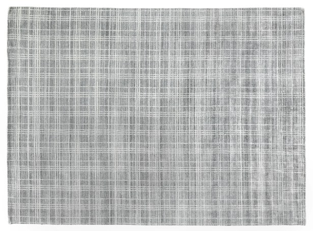 Fairbanks Hand-Woven Gray Area Rug Rug Size: Rectangle8' x 10'