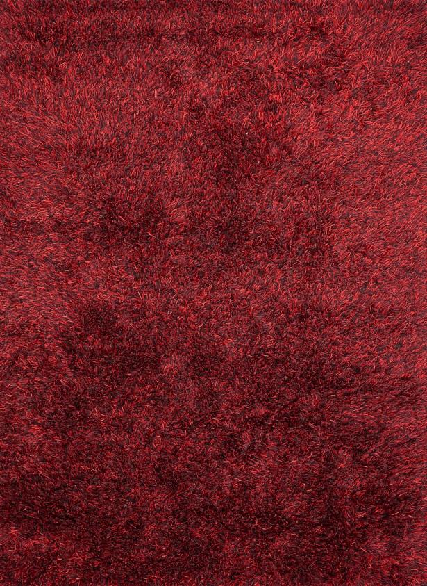 Ronaldo Dark Red Area Rug Rug Size: 5'7