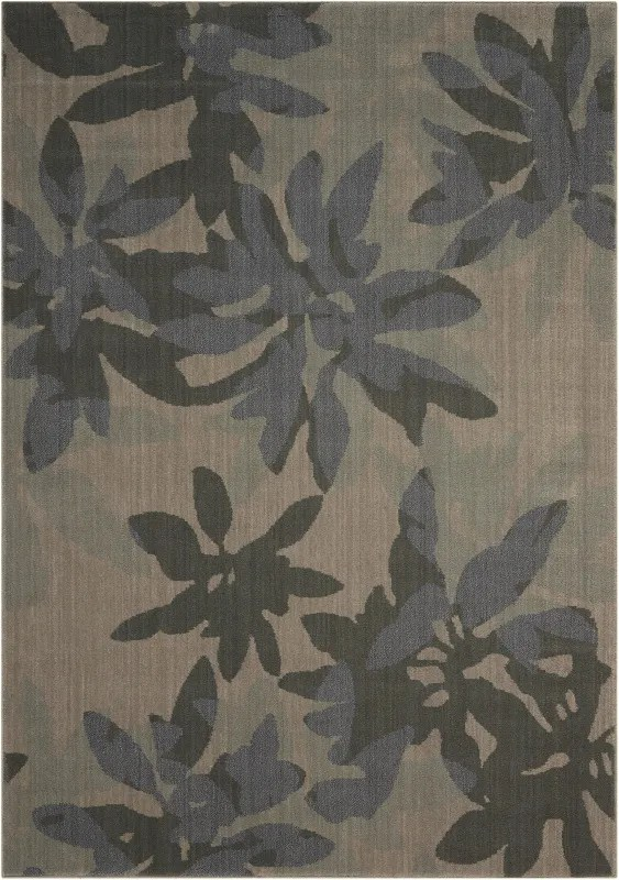 Urban Winter Flower Vapor Area Rug Rug Size: Rectangle 7'9