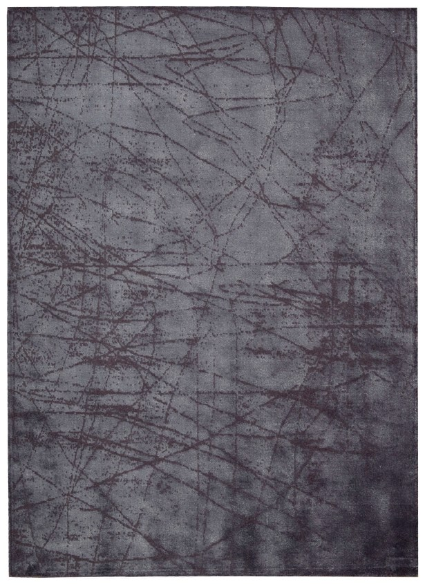 Maya Hand Woven Wool Etched Light Orchid Area Rug Rug Size: Rectangle 5'3
