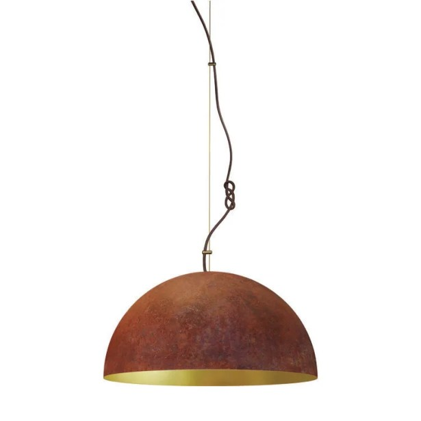 The Queen 1-Light Inverted Pendant Size: 79