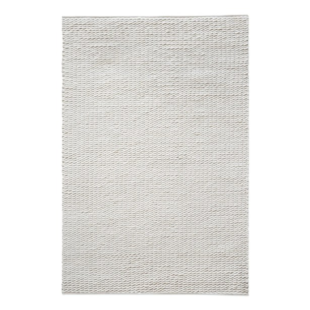 Gaskell Hand-Tufted Wool Ivory Area Rug Rug Size: 9' x 12'