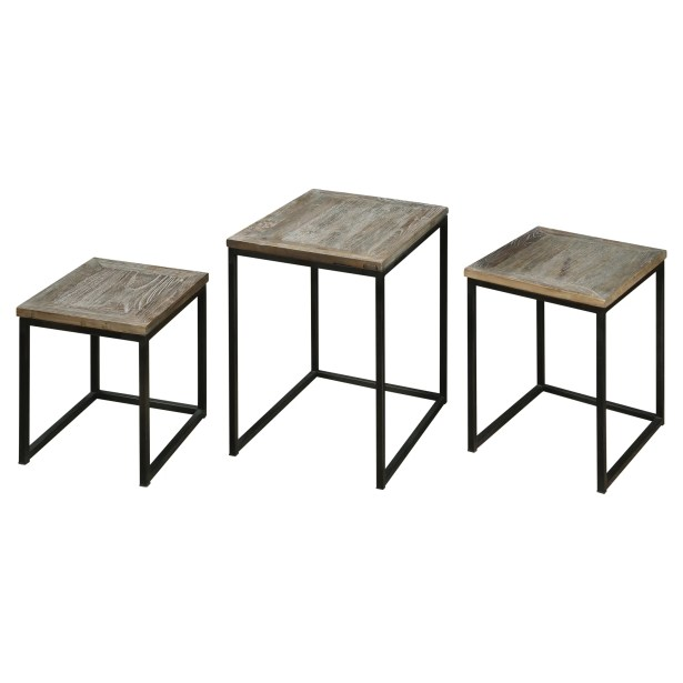 Bomani 3 Piece Nesting Tables