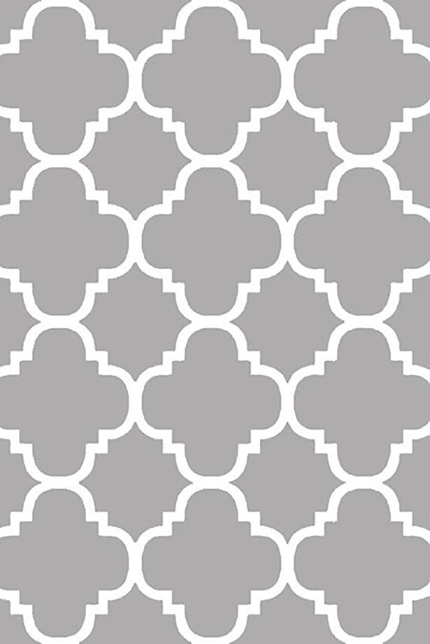Mccampbell 3D Gray/White Area Rug Rug Size: Rectangle 3'9? x 5'3