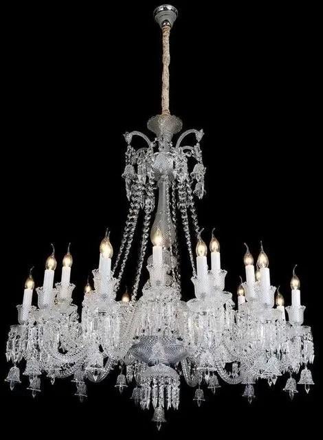 Roder 18-Light Chandelier Crystal Color: Cognac