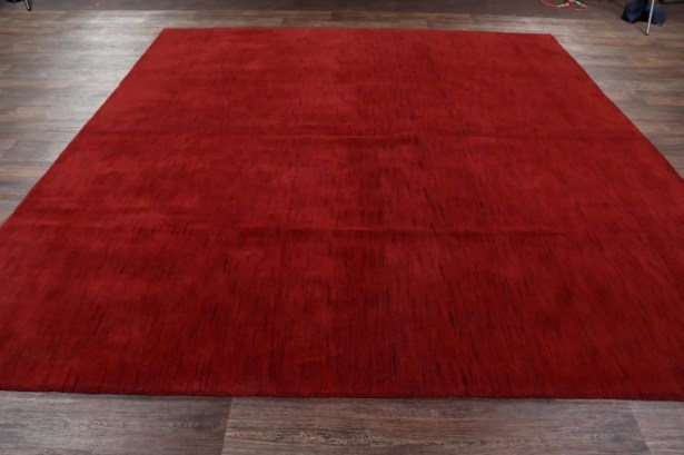 One-of-a-Kind Seidman Oriental Hand-Knotted Wool Red/Burgundy Area Rug Rug Size: Rectangle 8'1