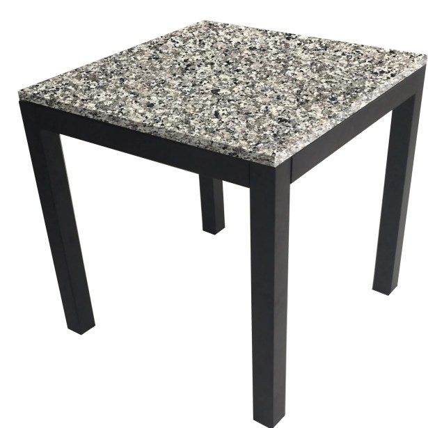 Lom Parsons End Table Table Top Color: Spanish Gray