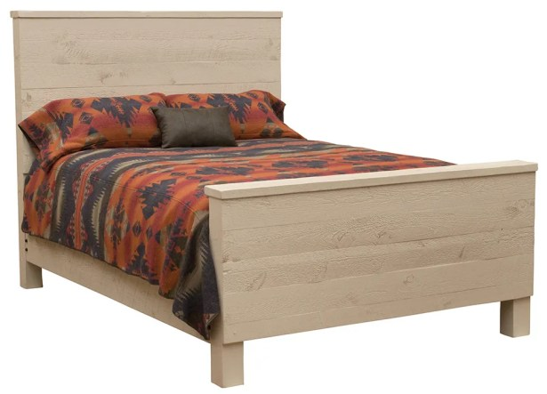 Frontier Uptown Panel Bed Color: Cottonwood, Size: California King
