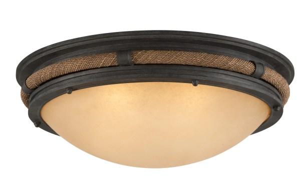Holly 4-Light Flush Mount Bulb Type: Fluorescent