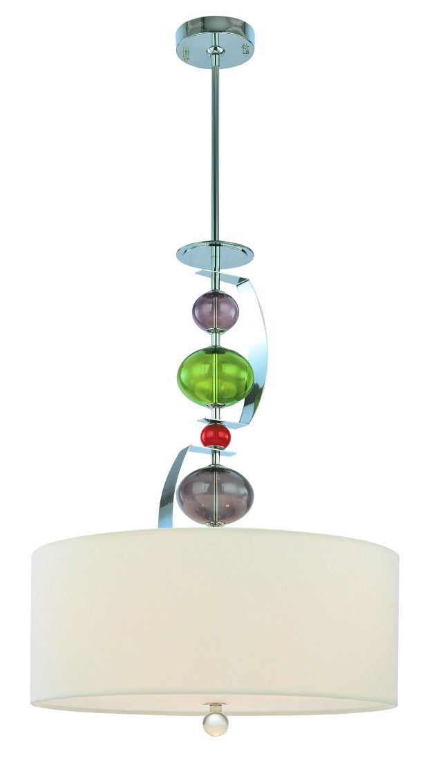 Fizz 3 Light Pendant