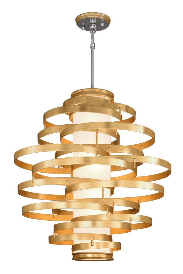 Vertigo 6-Light Geometric Chandelier