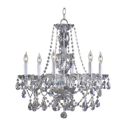 Evgenia 6-Light Candle Style Chandelier