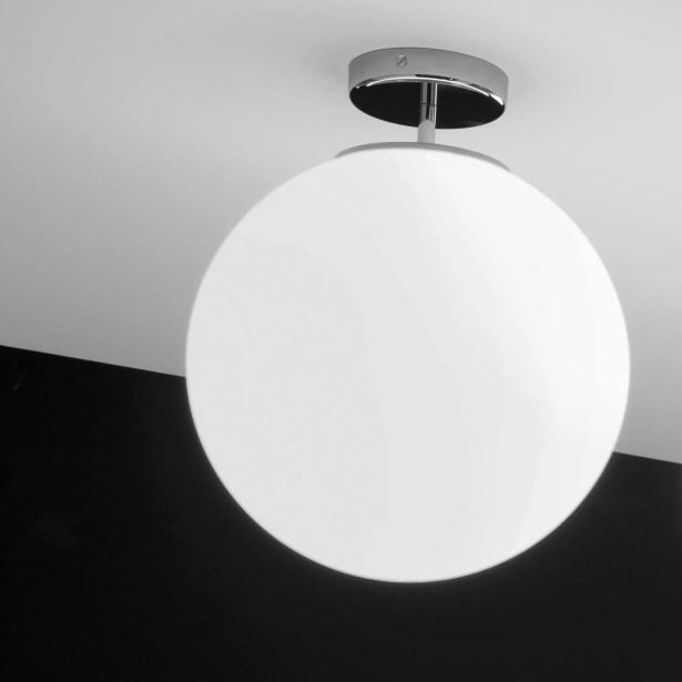 Sferis 1-Light Semi Flush Mount Size: 14.6