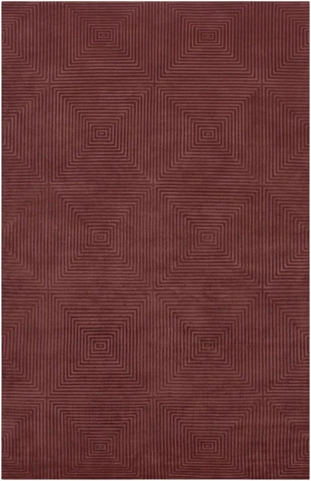 Luminous Raspberry Area Rug Rug Size: Rectangle 5' x 8'