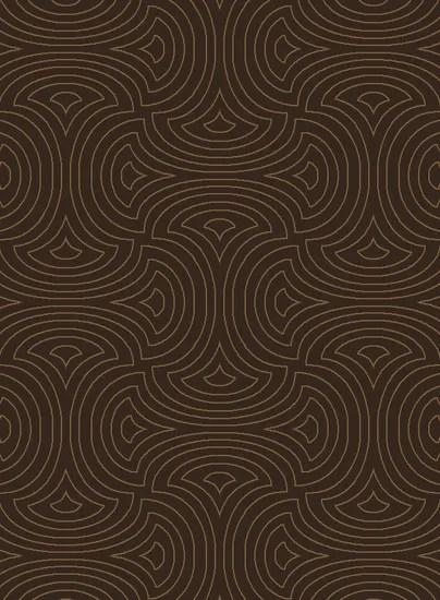 Luminous Dark Brown Area Rug Rug Size: Rectangle 9' x 13'