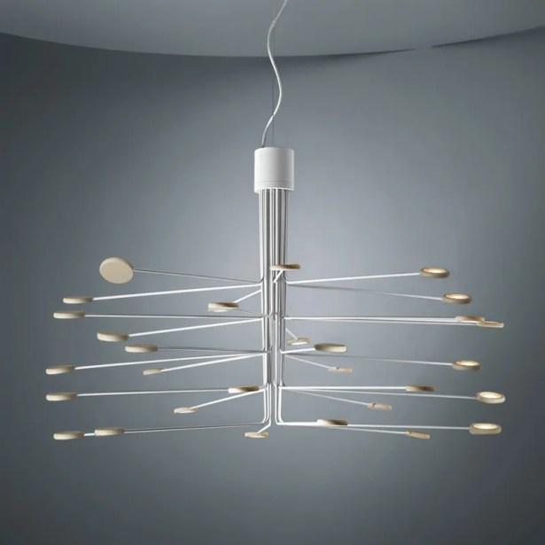 Arbor 30-Light  LED  Chandelier Finish: White/Dove Gray