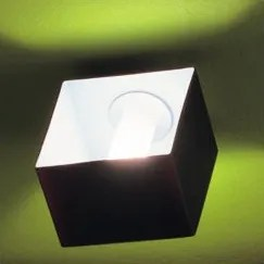 Domino 1-Light Flush Mount Size: 5.13