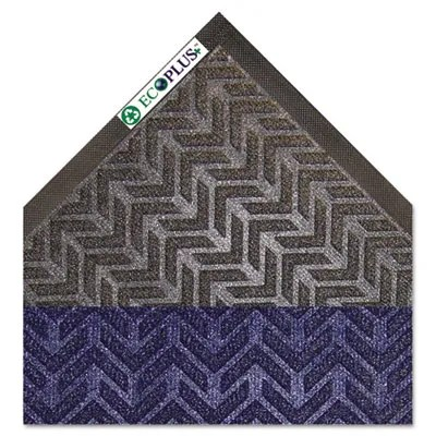 EcoPlus Doormat Color: Midnight Blue, Mat Size: Rectangle 4' x 6'