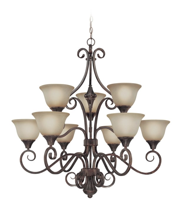 Wiliams 9-Light Shaded Chandelier