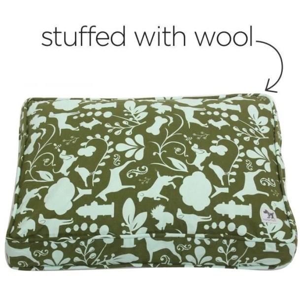 Veronica Amarillo Dog Bed Cover Size: Small (24