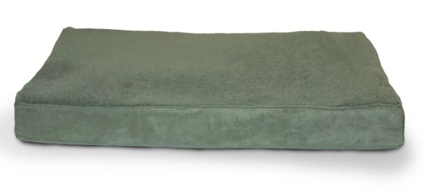 Arocho Terry and Suede Memory Foam Dog Bed Color: Forest, Size: Large (36