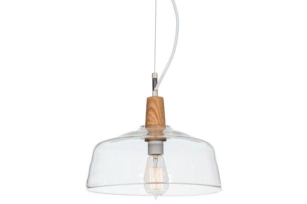Greenbriar Oak Confection 1-Light Drum Pendant
