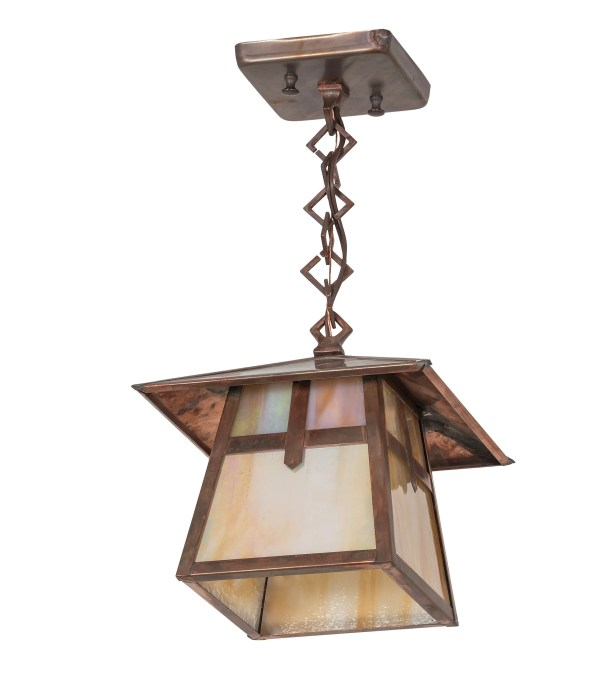 Stillwater Cross Mission 1-Light Lantern Pendant